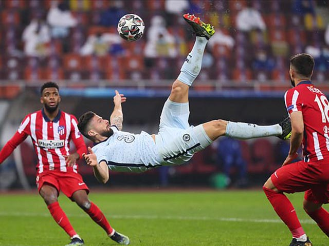 """Top siêu phẩm móc bóng Cúp C1: Giroud đứng """"chung mâm"""" Ronaldo, Bale"""