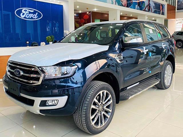 Một số đại lý Ford giảm giá 50 triệu đồng cho mẫu xe SUV Everest