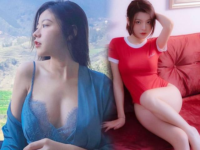 Nữ sinh Hà Nội mặt đẹp như nàng thơ, vóc dáng gợi cảm hút hồn