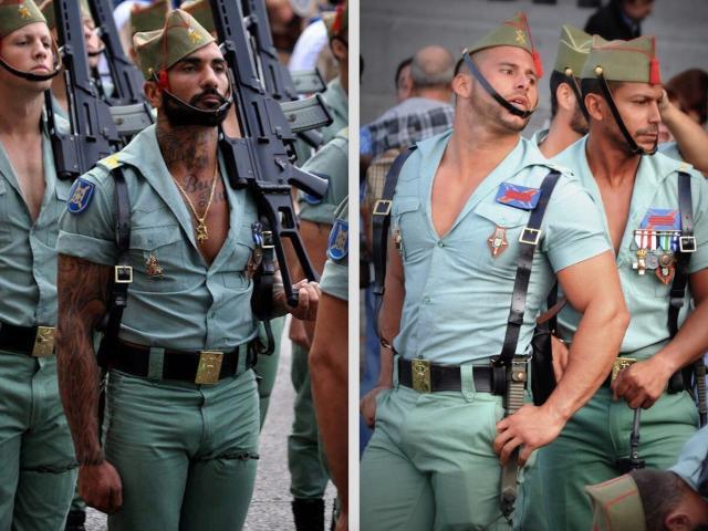 Lính TBN mặc áo hở ngực, cơ bắp cuồn cuộn chống Covid-19