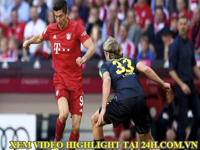 Video Bayern Munich - Cologne: Lewandowksi rực rỡ, xây chắc ngôi đầu