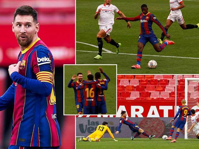 """Barca nhì bảng La Liga: Messi bất ngờ báo tin vui, ra điều kiện ở lại """"gánh team"""""""
