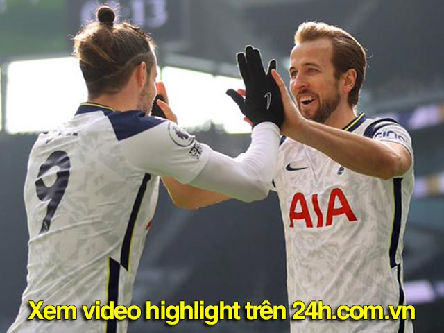 """Video Tottenham - Burnley: Hàng công bùng nổ, đại thắng """"4 sao"""""""