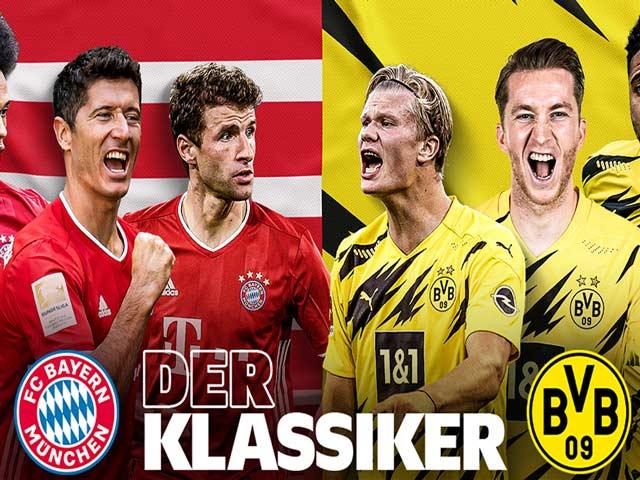 Bayern Munich - Borrusia Dortmund, 0h30 7/3: Con số cực hot trận siêu kinh điển Bundesliga