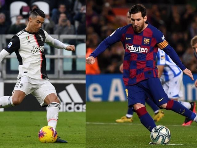 """Messi không thèm tập vẫn đá phạt giỏi, Ronaldo """"sút 66 vào 1"""" gây sốc"""