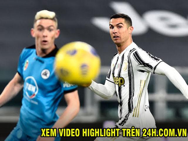 """Video Juventus - Spezia: Thay người đỉnh cao, Ronaldo """"chốt hạ"""""""