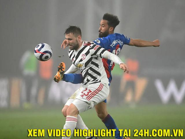 Video Crystal Palace - MU: Nỗ lực tấn công, thót tim phút 90