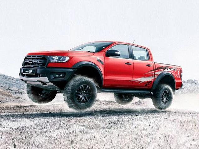 Ford Ranger Raptor có thêm phiên bản X Special màu đỏ với decal tia chớp siêu cháy