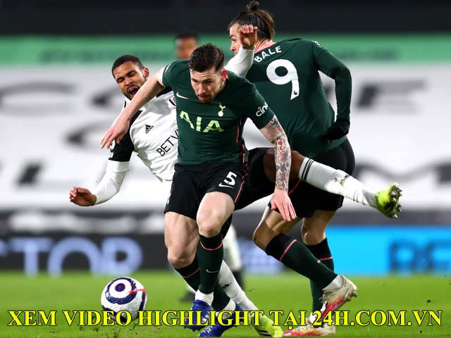 Video Fulham - Tottenham: Phản lưới ngỡ ngàng, VAR gây tiếc nuối