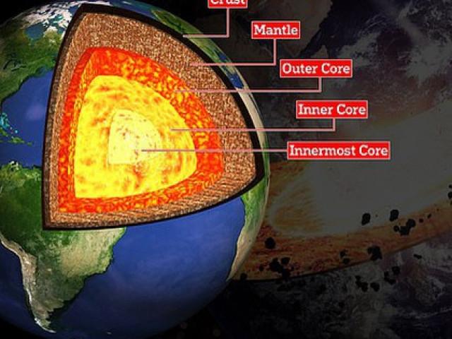 Sốc: Phát hiện một lớp vật chất hoàn toàn mới của Trái Đất