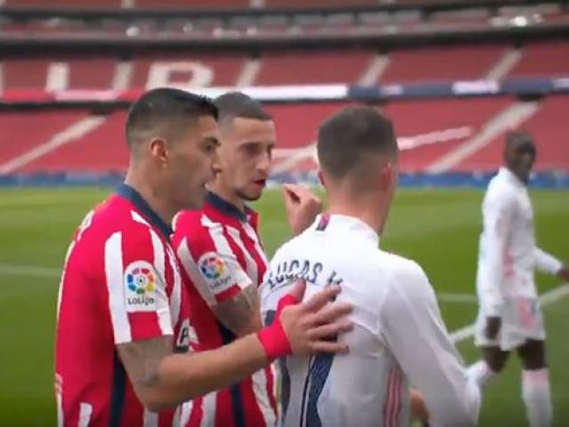 Real Madrid thoát thua Atletico: Suarez nổi cáu suýt ẩu đả học trò Zidane