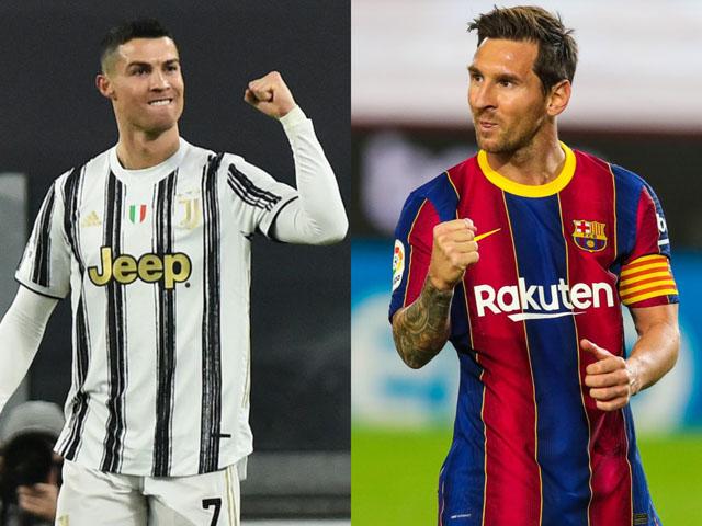 Lượt về vòng 1/8 Cúp C1: Soi Messi - Barcelona và Ronaldo - Juventus có lội ngược dòng