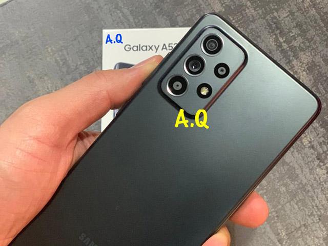 Đây là hình ảnh mới nhất của Galaxy A52 trước ngày ra mắt