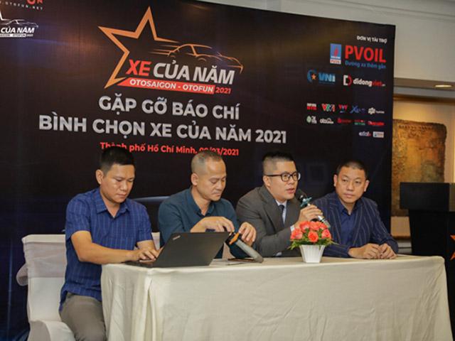 Cổng bình chọn giải Xe của năm 2021 chính thức hoạt động