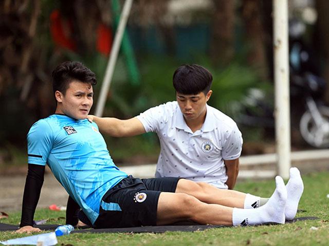 Vắng Quang Hải, đại gia Hà Nội FC sẽ vất vả đua trụ hạng V-League?