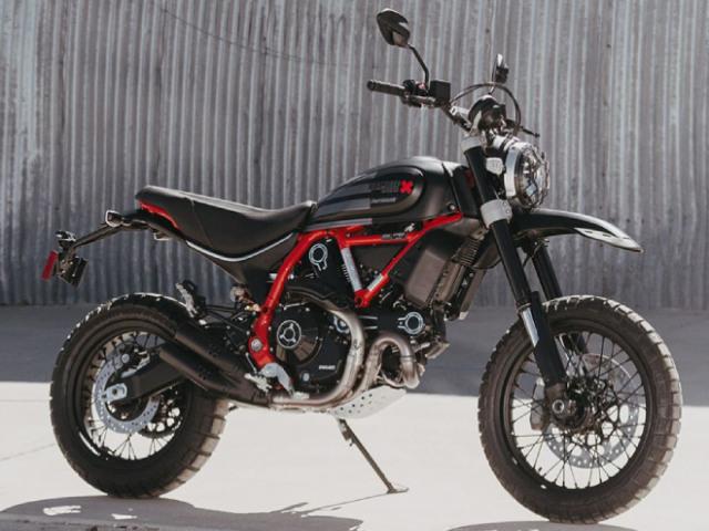 2021 Ducati Scrambler có bản chạy sa mạc cực ngầu