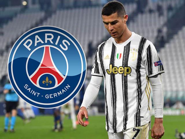 Juventus bị loại khỏi Champions League: Ronaldo tìm đường ra đi, PSG trải thảm đỏ