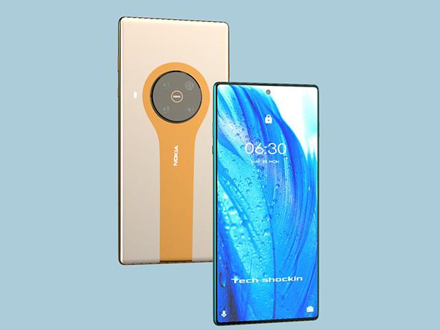 Nokia 8.4 5G sẽ cực chất với màn hình 120 Hz, camera 108 MP