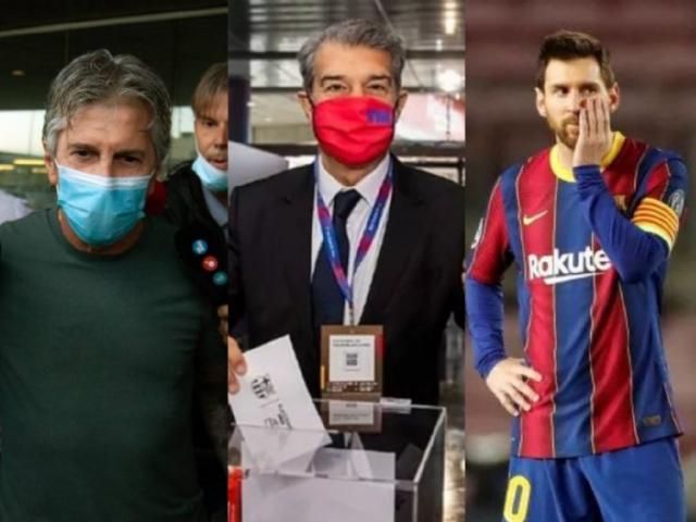 NÓNG: Bố Messi sang Barcelona làm rõ tương lai M10, bất ngờ đề nghị 3 năm