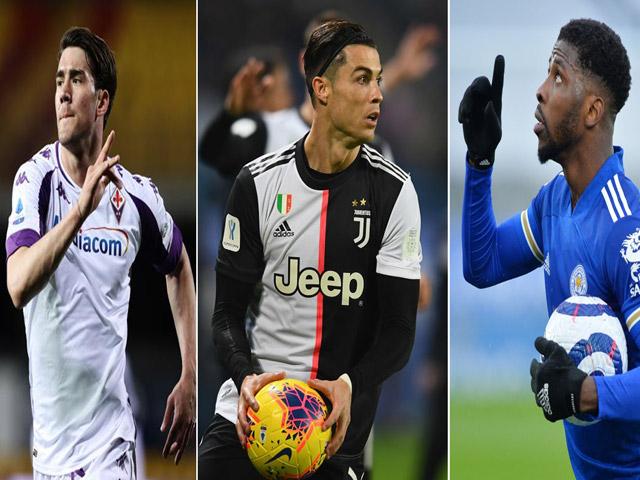 """Ronaldo hat-trick chấn động châu Âu vượt """"Vua"""" Pele, SAO Leicester khiến MU run rẩy"""