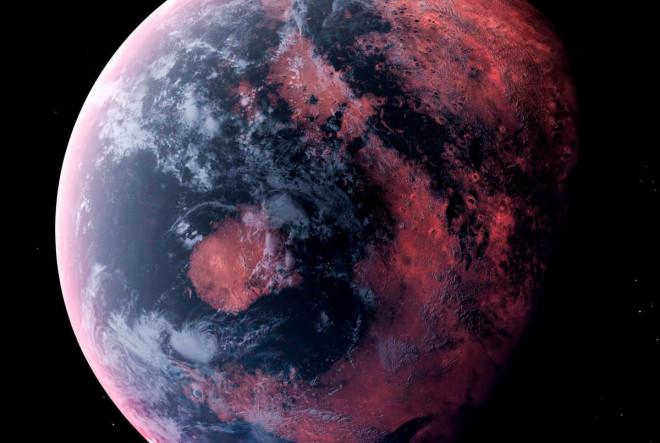 """Phát hiện một đại dương khác của Trái Đất, """"nước"""" toàn đá nóng chảy"""