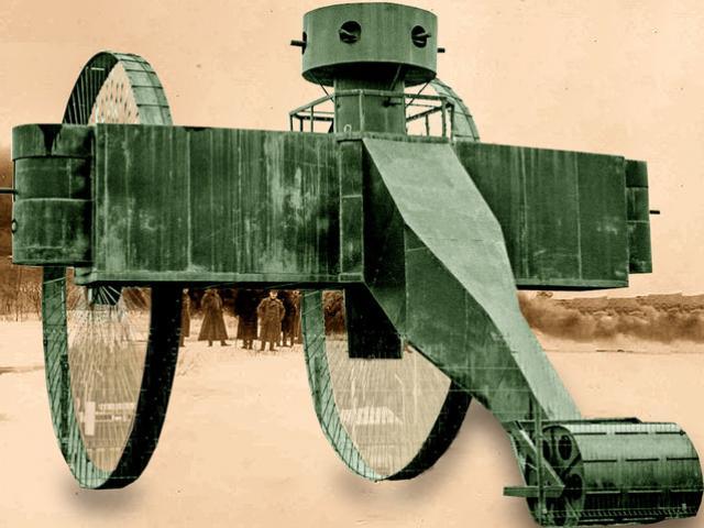 Xe tăng Sa hoàng cao bằng nhà 3 tầng kỳ dị nhất lịch sử, vì sao không thể lăn bánh?