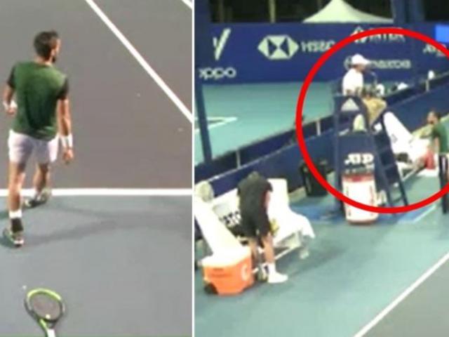 """SAO tennis bị tố đòi giết hại trọng tài, cái kết """"đắng"""" như Djokovic"""