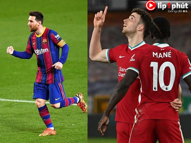 Barca thăng hoa vẫn sợ mất Messi, Liverpool có còn cửa vào top 4? (Clip 1 phút Bóng đá 24H)
