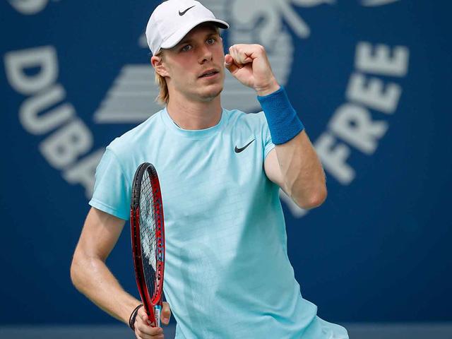 Denis Shapovalov hủy diệt đối thủ, sáng cửa vô địch giải Dubai Championships