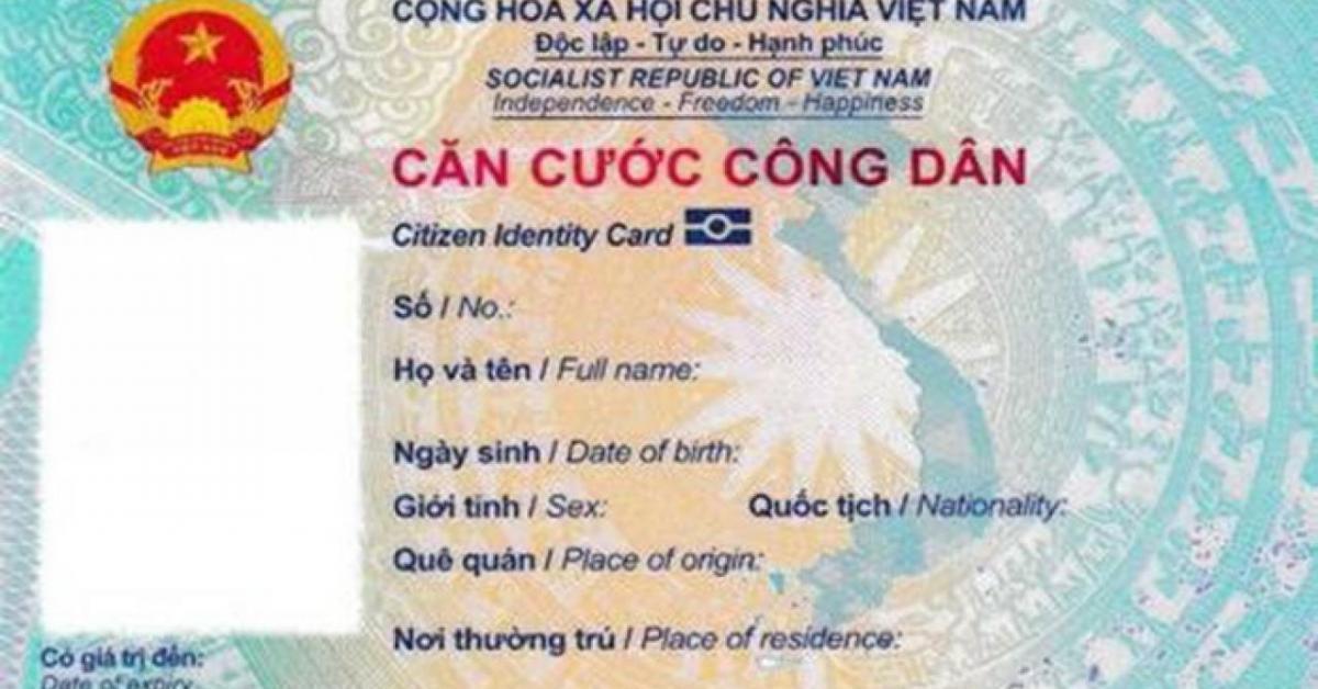 Ngôn ngữ tiếng Anh trên thẻ căn cước công dân gắn chip dùng để làm gì?