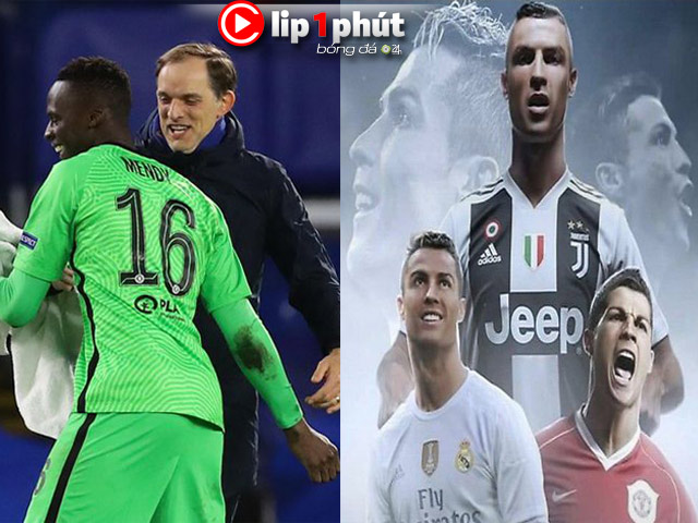 Chelsea 13 trận bất bại làm loạn Cúp C1, Ronaldo muốn tái hợp MU hay Real? (Clip 1 phút Bóng đá 24H)