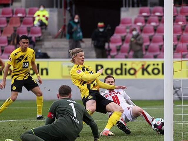 Video Koln - Dortmund: Haaland thăng hoa, thoát hiểm phút 90