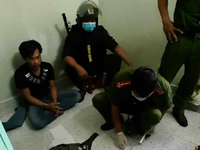 """Hàng trăm cảnh sát vây bắt băng nhóm """"xã hội đen"""" của bà trùm Kim Cương"""