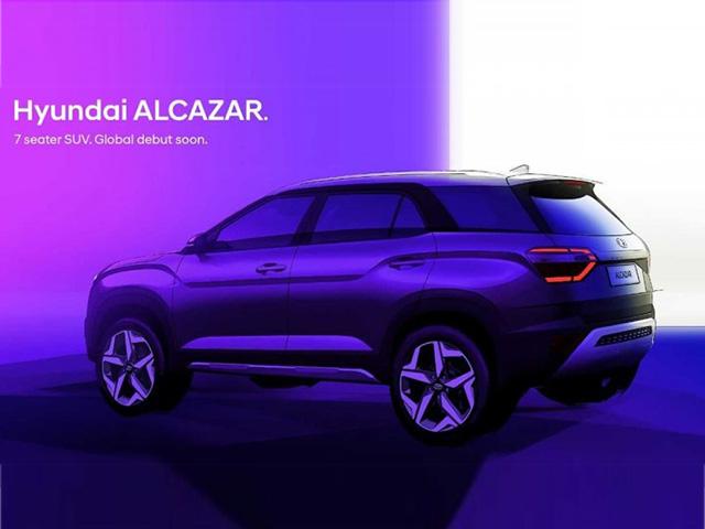 Hyundai Alcazar lộ diện - SUV 7 chỗ mới cạnh tranh Toyota Fortuner