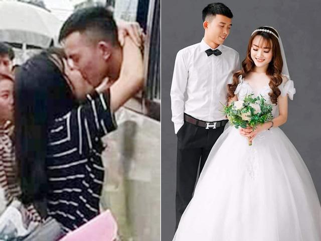 """Cặp đôi xứ Nghệ gây bão vì """"nụ hôn ngày nhập ngũ"""" 2 năm trước giờ đã về chung nhà"""