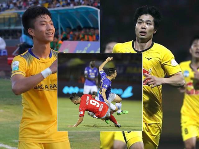 Mãn nhãn Công Phượng - Văn Đức bùng nổ vòng 5 V-League, kinh hoàng Hùng Dũng gãy chân