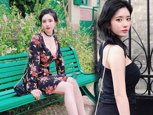 """Nữ streamer sở hữu vòng 1 """"khủng nhất nhì xứ Hàn"""" U40 vẫn đẹp như thiếu nữ"""