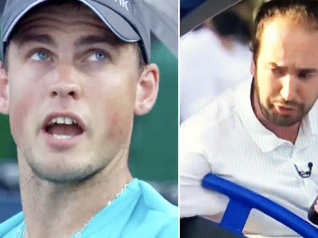 """Giải Miami Open """"nóng như lửa"""": Người bị ngất, kẻ """"nổi giận đùng đùng"""""""