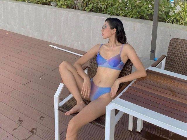 """Nàng đả nữ """"sexy nhất Hà thành"""" tạo dáng với đồ bơi khiến fan nam mê mẩn"""