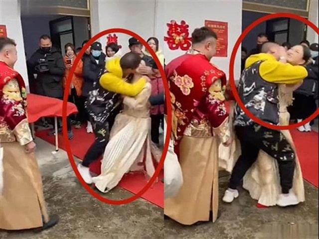 Cô dâu bị cưỡng hôn, chú rể đứng cười gây phẫn nộ