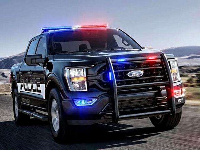 Ford F-150 phiên bản cảnh sát Mỹ, sở hữu mã lực khủng