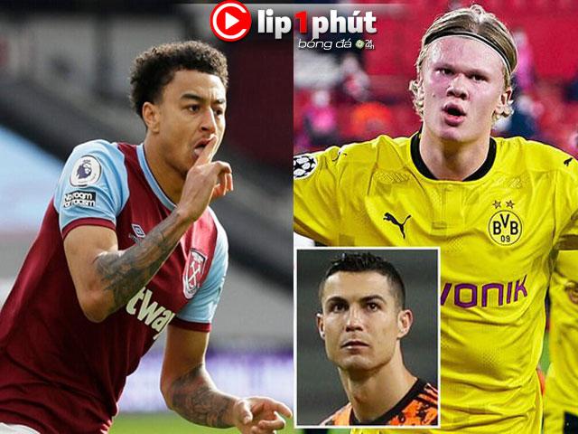 """Lingard khiến MU """"hy sinh"""" Pogba - Fernandes, lý do Haaland """"đắt khách"""" hơn Ronaldo (Clip 1 phút Bóng đá 24H)"""