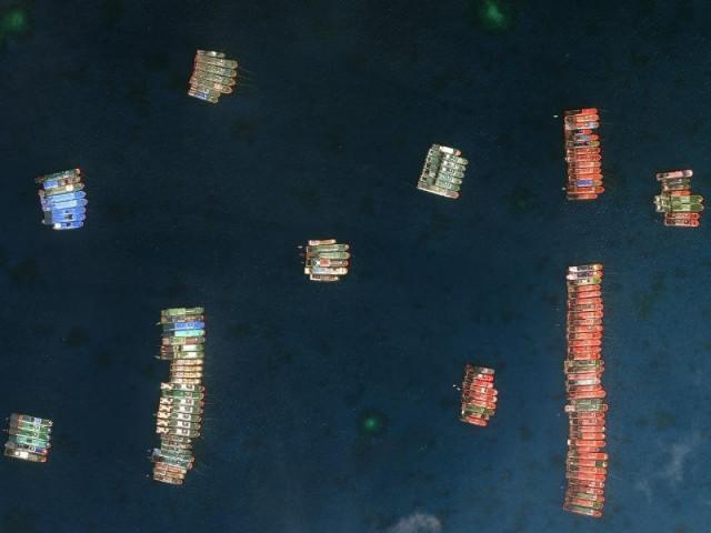 Manila điều máy bay chiến đấu giám sát tàu TQ tại đá Ba Đầu