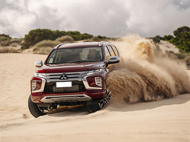 Giá xe Mitsubishi Pajero Sport lăn bánh tháng 3/2021
