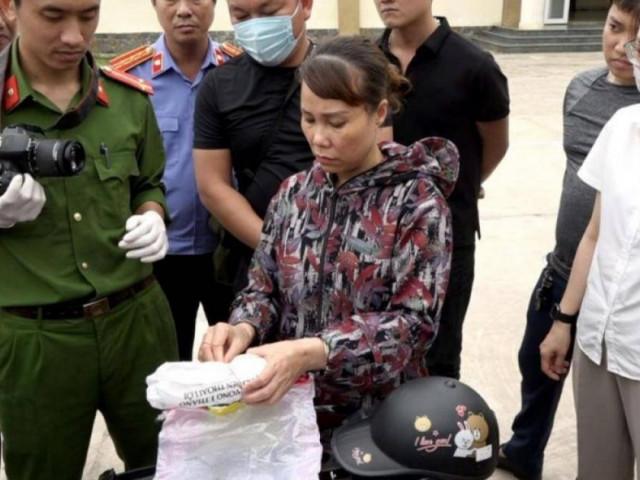 Bắt quả tang 1 phụ nữ tàng trữ hơn 2.000 viên ma túy trong cốp xe SH