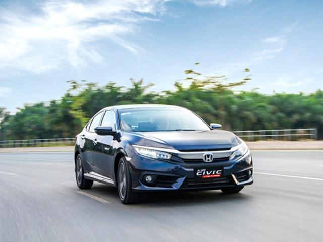 Giá xe Honda Civic lăn bánh tháng 3/2021