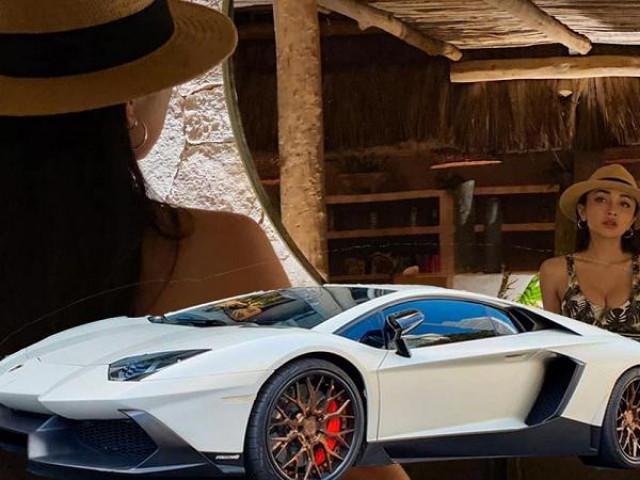 """Hotgirl 9X chi tiền """"khủng"""" mua siêu xe Lamborghini Aventador"""