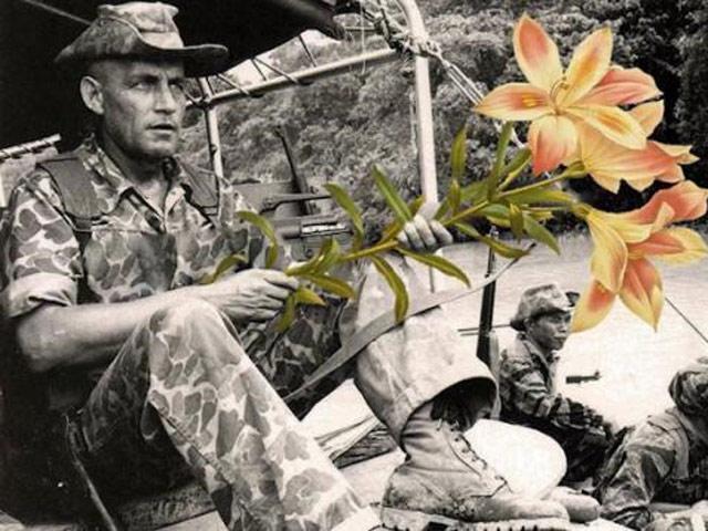 """Tạm giữ toàn bộ ảnh ở triển lãm """"Hoa nơi chiến trường"""""""