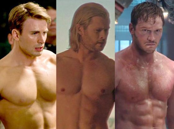 Những mỹ nam cơ bắp nhất phim Marvel