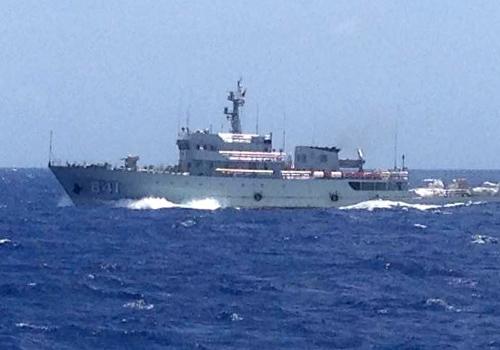 Tàu cảnh sát biển Trung Quốc tấn công tàu cá Việt Nam